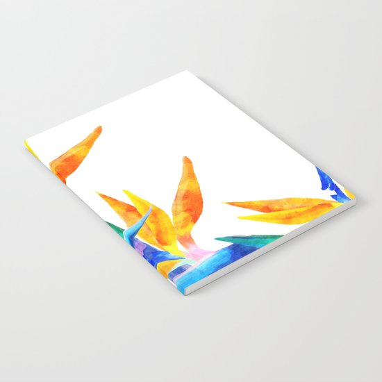 Bird of Paradise V2 Society6 #decor #buyart Notebook