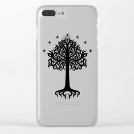 the ancient tree Clear iPhone Case