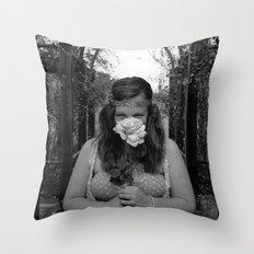 A Stunning Curiosity Throw Pillow