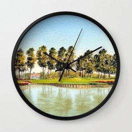 Sawgrass TPC Golf Course 17th Hole Wall Clock