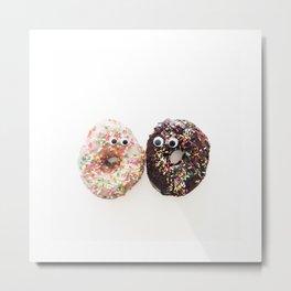 Donut Conversation Food Photography Metal Print