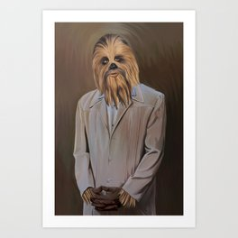 The Chewy Art Print
