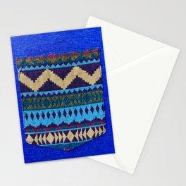 Blue Pocket Design Stationery Cards