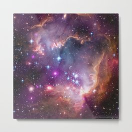 1566. NGC 602 and Beyond   Metal Print