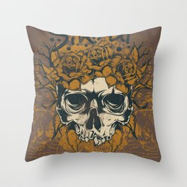 Sinful roses Throw Pillow