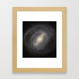 Barred Spiral Galaxy NGC 4394 Framed Art Print