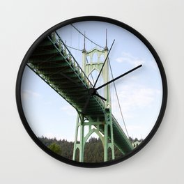 St John's Bridge Portland Wall Clock