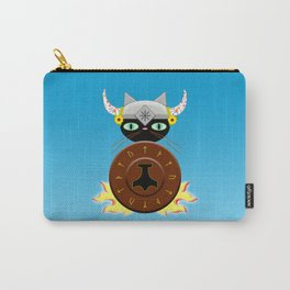 Feline Viking Carry-All Pouch