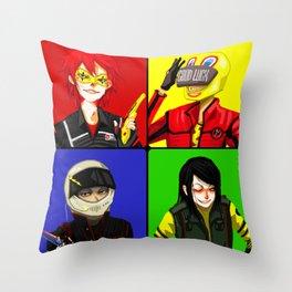 Danger Days Throw Pillow