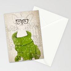Hipster Chiuaua Stationery Cards