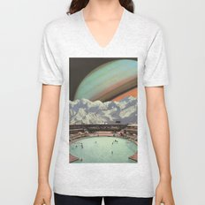 Saturn Spa Unisex V-Neck