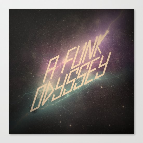 A Funk Odyssey Canvas Print
