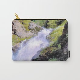 Winona Falls - Hermann Ottomar Herzog Carry-All Pouch