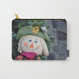 Smiling Scarecrow Carry-All Pouch