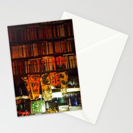jazz, drinks and conversations Stationery Cards