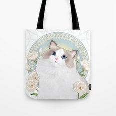 Cat Chabssal Tote Bag