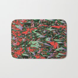 camo sharpening Bath Mat