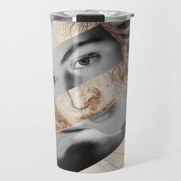Leonardo Da Vinci's Head of Leda & Ingrid Bergman Travel Mug