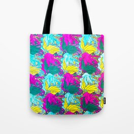 The Alligator Grins / The Peacock Weeps Tote Bag