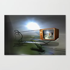 Cable TV Canvas Print