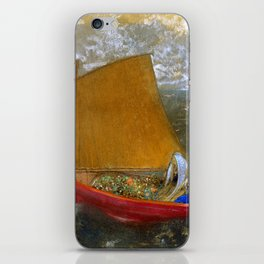 "Odilon Redon ""La Voile jaune (The Yellow Sail)"" iPhone Skin"