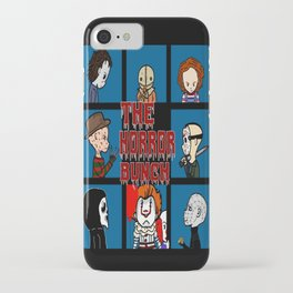 The Horror Bunch: Slashers Unite iPhone Case