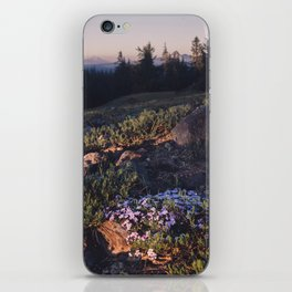 Wildflowers at Dawn - Nature Photography iPhone Skin