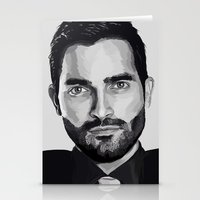 tyler spangler Stationery Cards featuring Tyler Hoechlin by Finduilas
