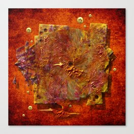 Abstract disc Canvas Print