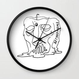 Retired Resale Wall Clock