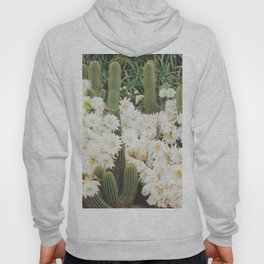 Cactus and Flowers Hoody