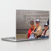 heroes Laptop & iPad Skins featuring Heroes by Anthony M. Davis