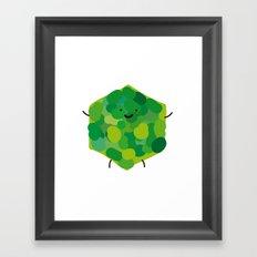 hexagonin Framed Art Print