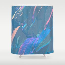 Holographic Artwork No 6 (Crystal) Shower Curtain