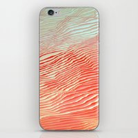waves iPhone & iPod Skins featuring Waves by Okti