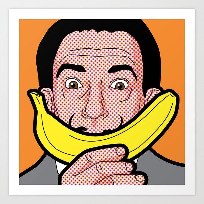 Pop Icon - Salvador Warhol Art Print