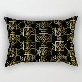 Jazzy Pattern Rectangular Pillow