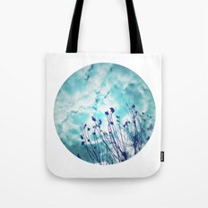 Branches and Cloudy Sky Tote Bag