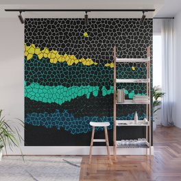 Moonlight Over the River Wall Mural