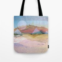 switzerland Tote Bags featuring Egypt and Switzerland I by Moira Parton