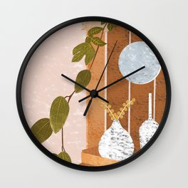 Don't Leave(s) Me Alone Wall Clock