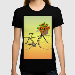 Bicycle Sunflowers T-shirt