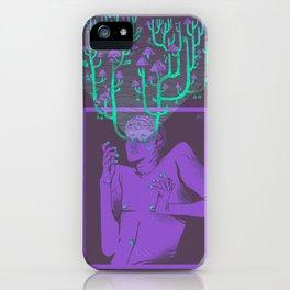 Hallucination garden iPhone Case