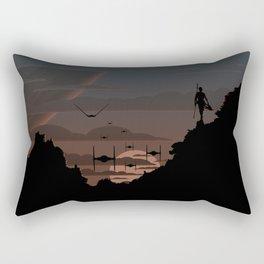Twilight Of Darkness BLUE Rectangular Pillow