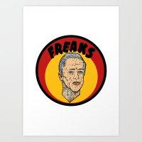 Freaks Paul Art Print