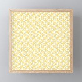 HELLO YELLOW - ANISSA DIAMOND by MS Framed Mini Art Print