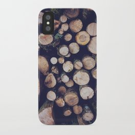 firewood no. 1 iPhone Case