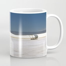 Picknick At White Sands Coffee Mug