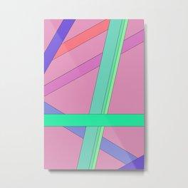 Purplestein.abstract Metal Print