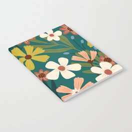 Fall Floral No. 06 Notebook